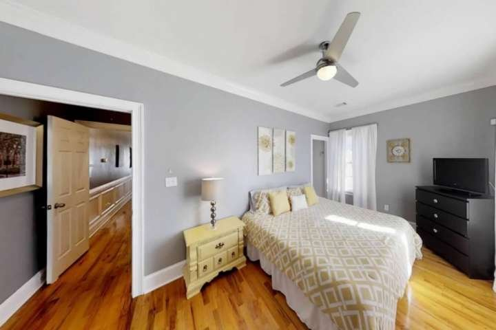 Inviting bedroom with all the comforts