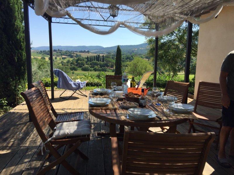 Casale a cetona( Siena), holiday rental in Cetona