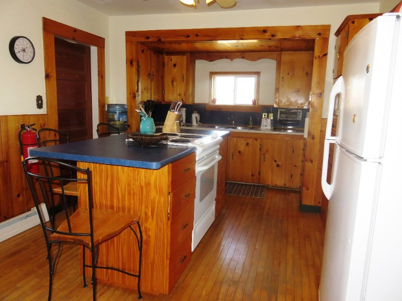 Kitchen at Shipwright's cottage