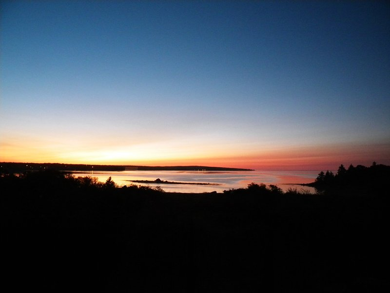 Sunset at Shipwright's Cottage
