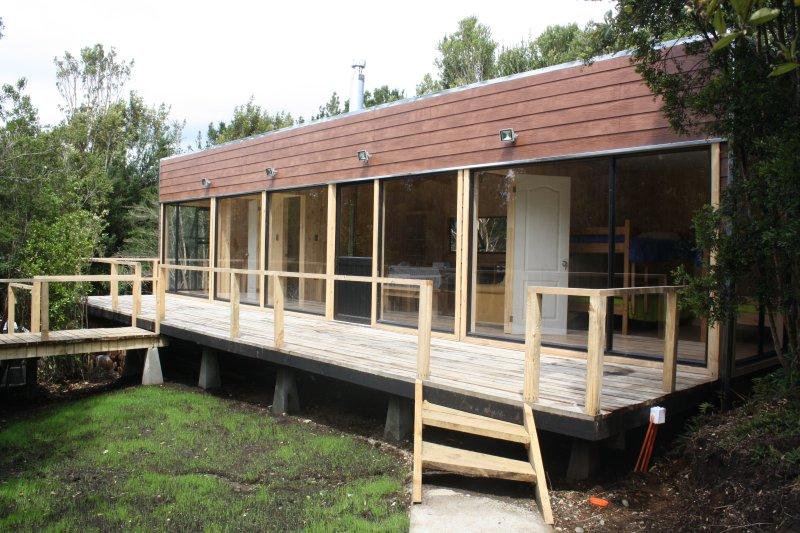 Casa Loft Chiloe en el Lago Huillinco, casa vacanza a Isla Chiloe