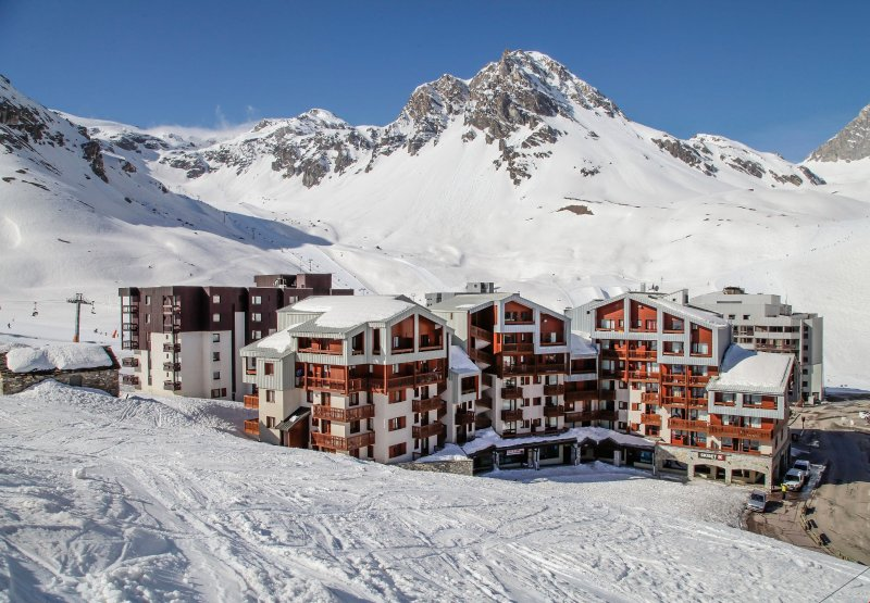 Mountain Apartment 200m from the lifts! In the kitchen Chalet in Tignes
