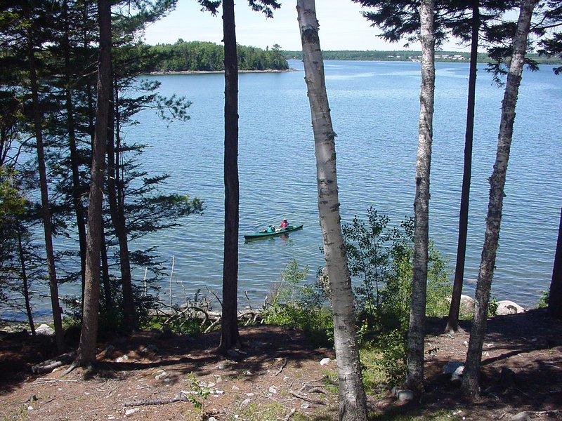 Kayak du Log Home