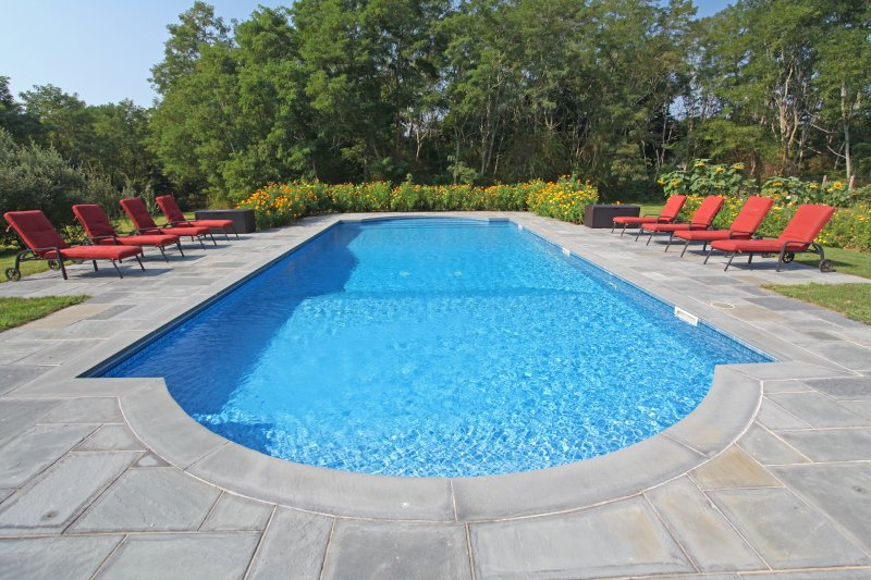 Private Yard with pool