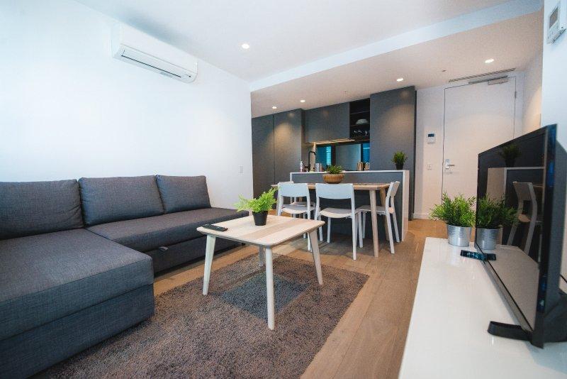 Un interior cómodo y moderno.