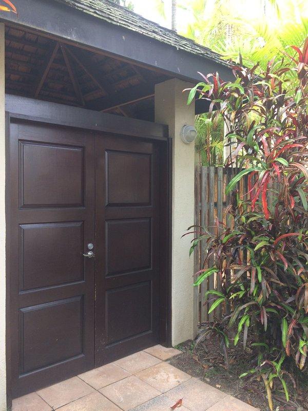 Las puertas de entrada.