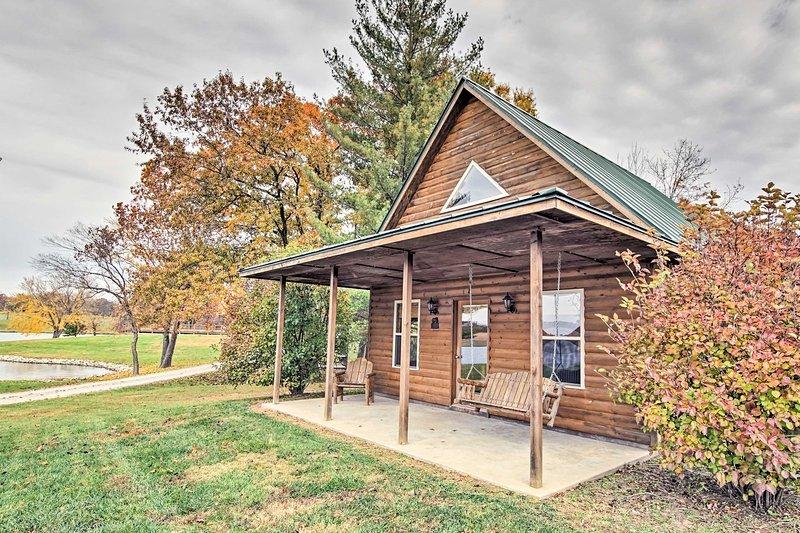 'Peaceful Potters Cabin' es una cabaña de alquiler vacacional en Cedar Creek Lodge.