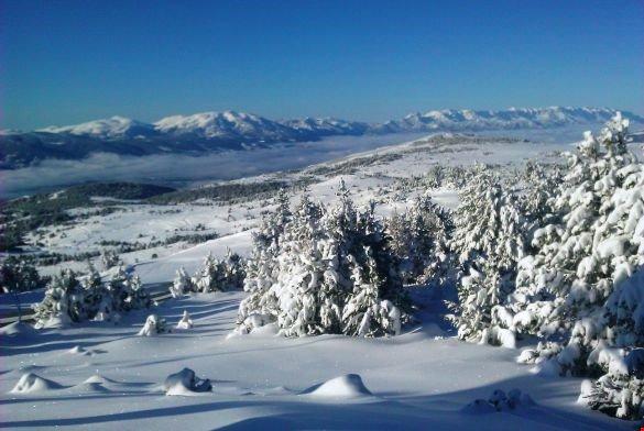 Esta área é perfeita no inverno ou no verão.