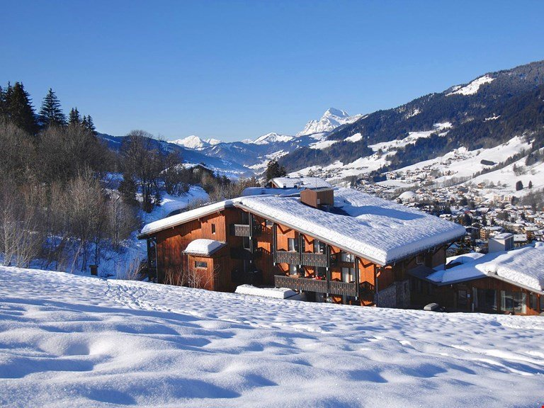 Mountain apartment 1km from the center | Free Wi-Fi, sauna access Chalet in Megeve