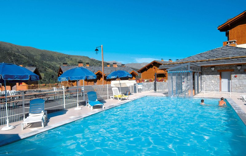 Spend time with family and friends in the stunning outdoor pool