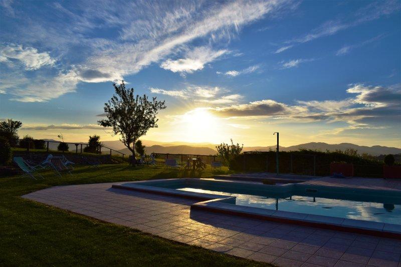 Villa Bizzi holiday home, vacation rental in Trestina