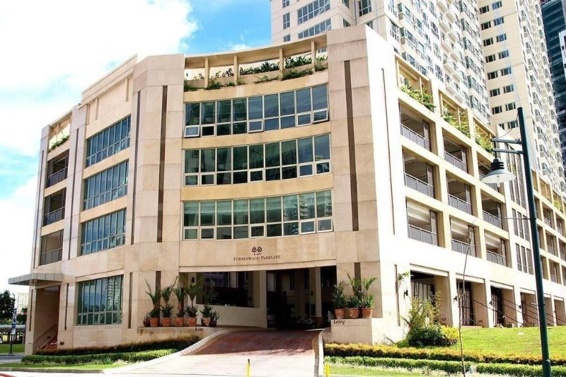 Building Facade. along Rizal drive