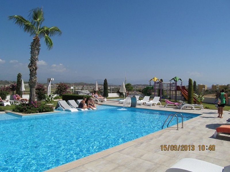 Stunning  2 bed  duplex private home on beautiful gated community, holiday rental in Manavgat
