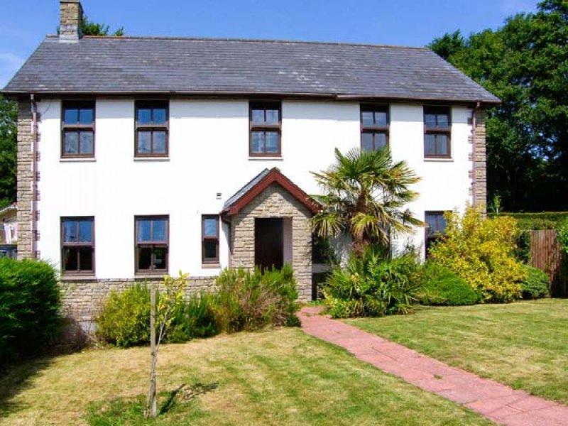 Front of Dyffryn House
