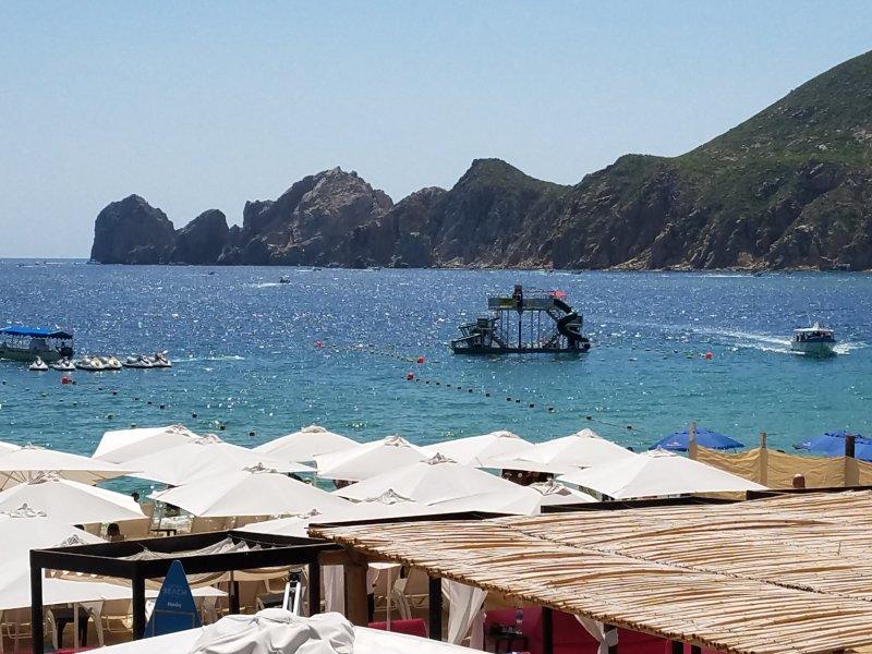 Vista de uno de los restaurante de Cabo Villas