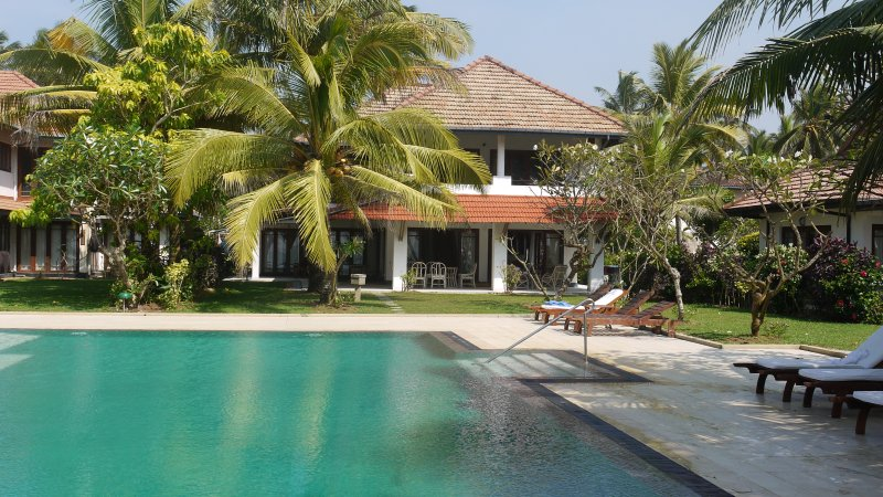 Beach Villa with Private Chef, WP, Sri Lanka, vacation rental in Kalutara