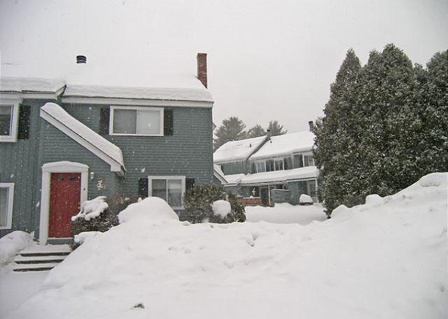 El exterior de la Casa