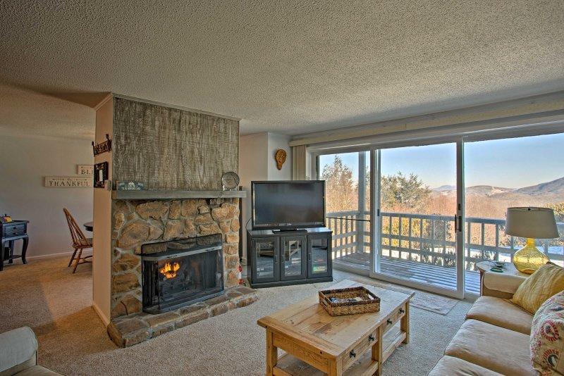 ¡Escápese a las montañas y alójese en este encantador condominio de alquiler de vacaciones!