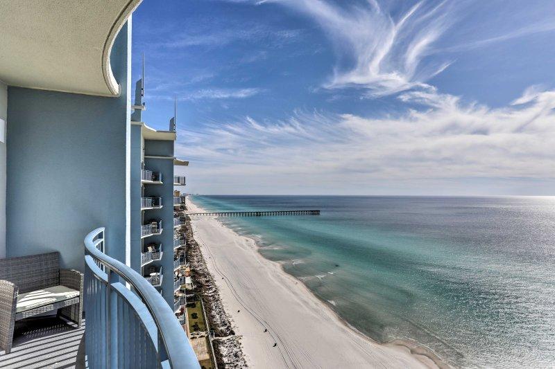 Genießen Sie einen atemberaubenden Golf von Mexiko Aussicht.