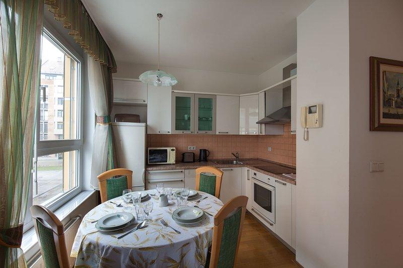 Apartamento ANITA - cozinha totalmente equipada