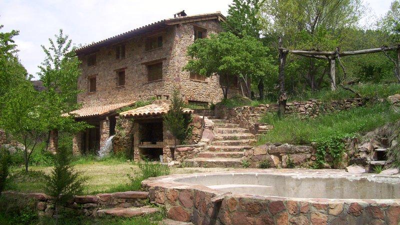 Molino de la herrería, alquiler de vacaciones en El Vallecillo