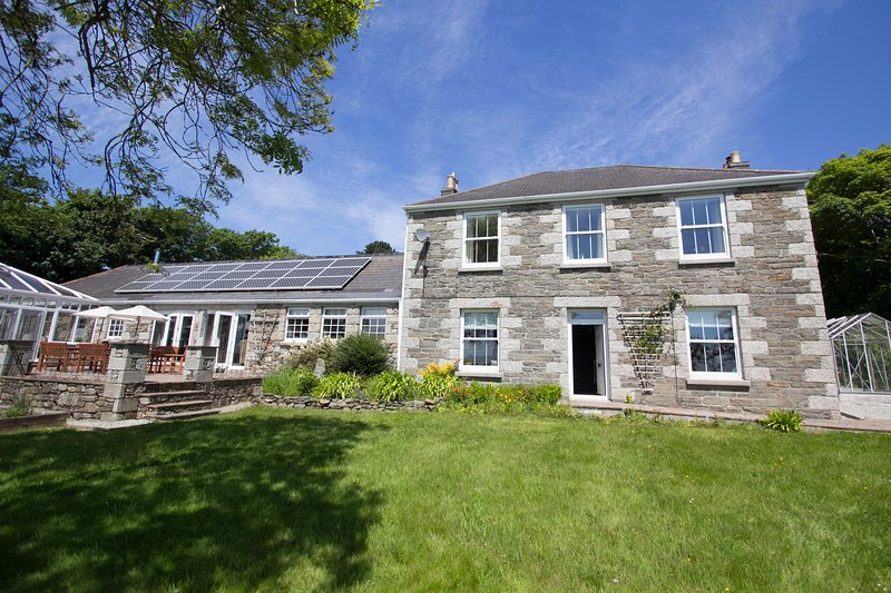 Tregoose Farmhouse - main house - sleeps 12