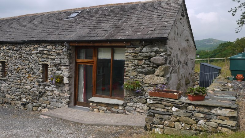 Front of Bertha's Cottage