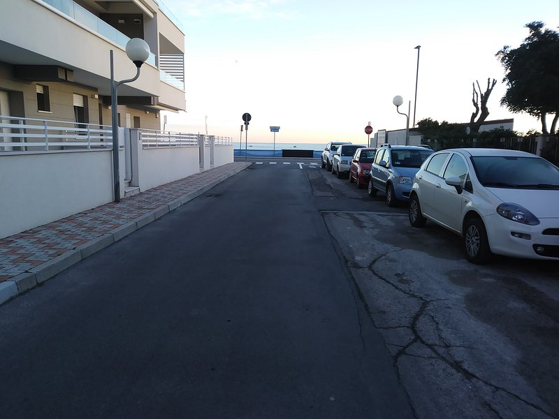 Parking front property