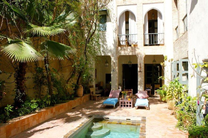 Dar Louisa, luxury, fully staffed riad, Taroudant, Morocco, vacation rental in Ait Iaaza