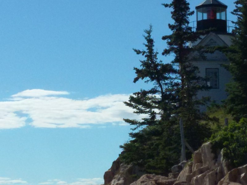 Only five miles to Bass Harbor Head Lighthouse