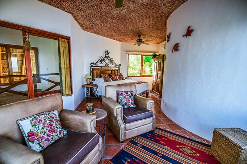 Chambre principale sur le niveau supérieur de Casa Loma