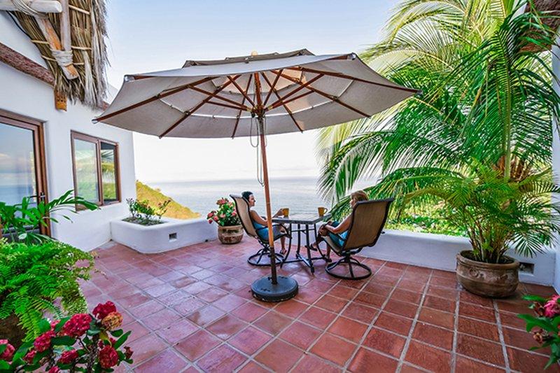 patio de niveau supérieur à Casa Loma