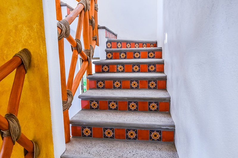 Stairway Maison Abuelitos
