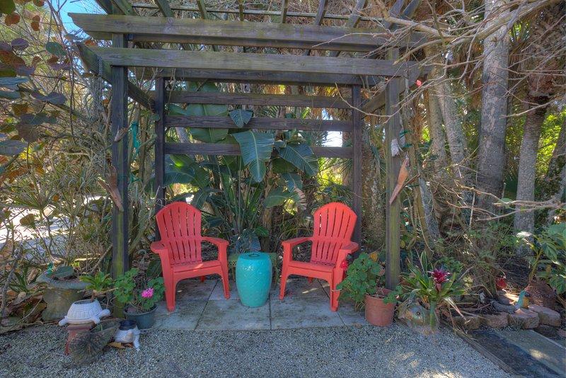 Turtle Beach Maison sièges à l'extérieur