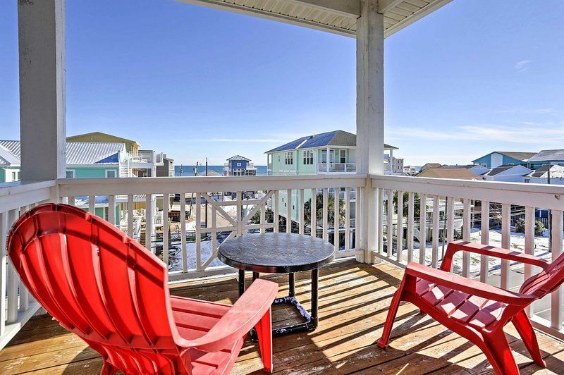 Experience coastal living like never before at this 4-bedroom, 3.5-bathroom vacation rental townhome!
