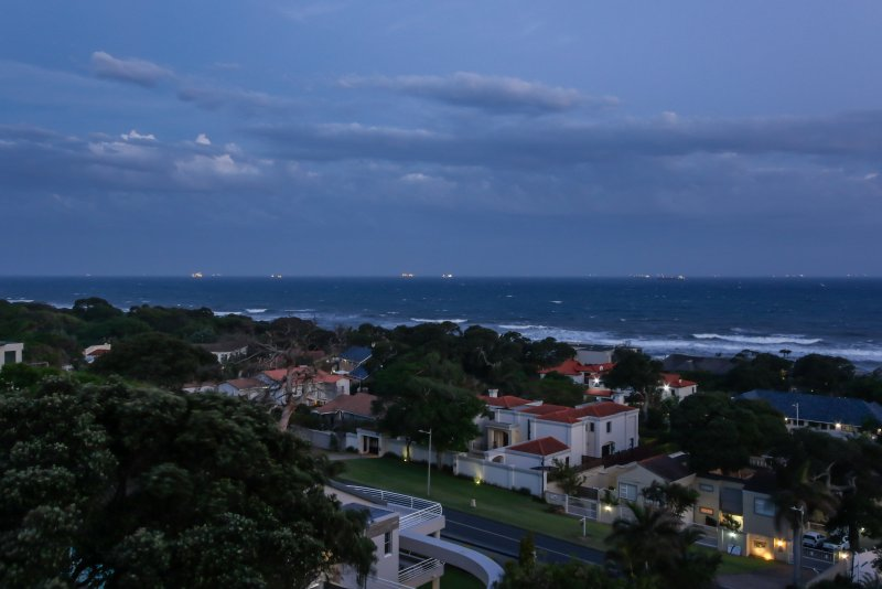 Your sunset from Ocean Vista - count the ships or listen to the ocean