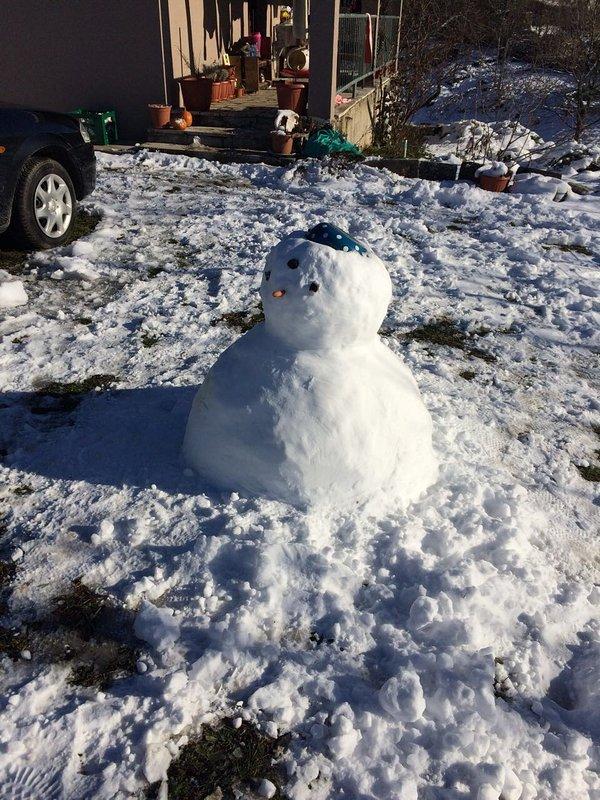 monigote de nieve