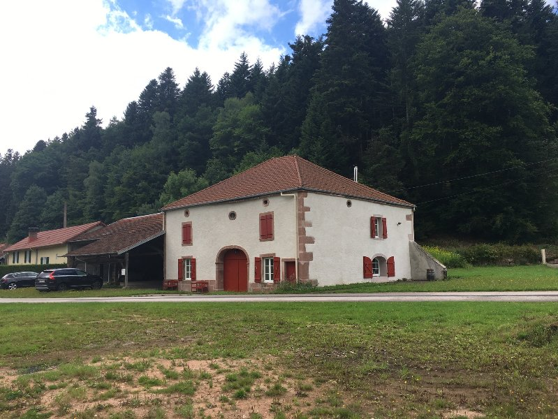 Old Farm Vosges 250m2, completely renovated, on 2 floors. With large barn and garden