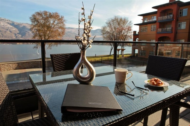 Enjoy the lake view from your own private stunning balcony