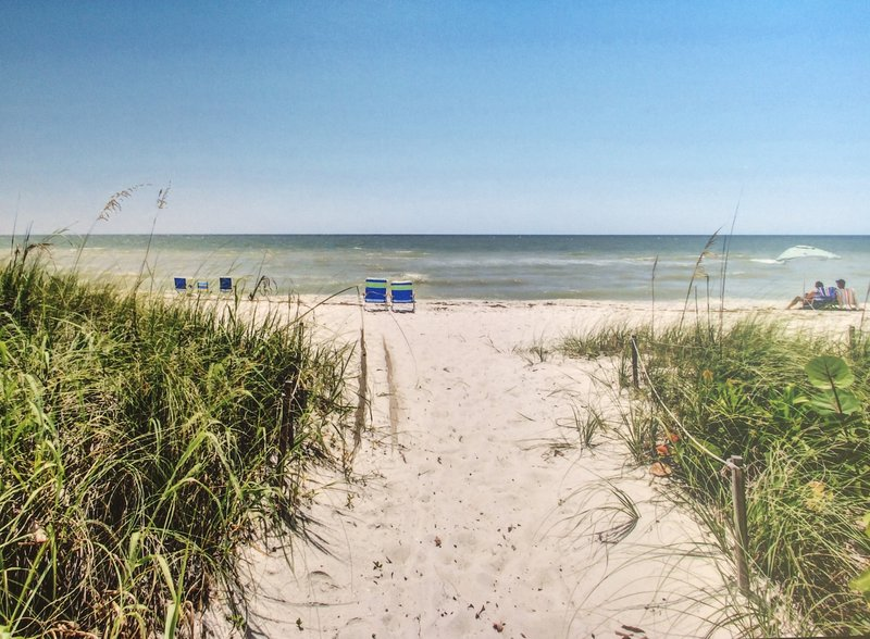 Those beach chairs are waiting for you!