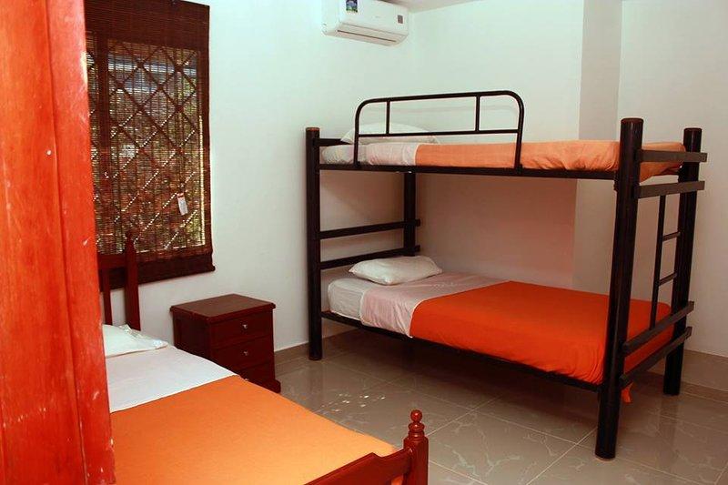 des chambres confortables et climatisées