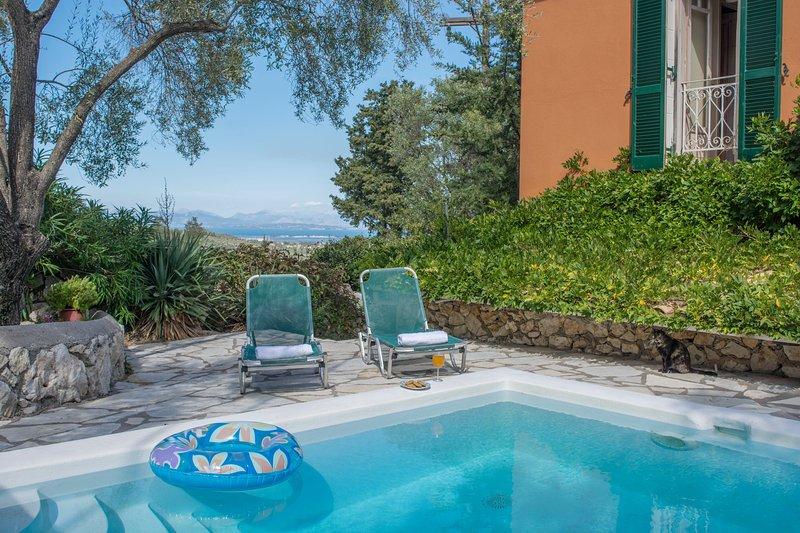 Villa in Katouna - Long term lease, holiday rental in Katouna