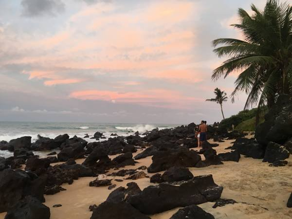 Casa com vista para o mar em Baia Formosa, alquiler de vacaciones en Estado de Río Grande del Norte