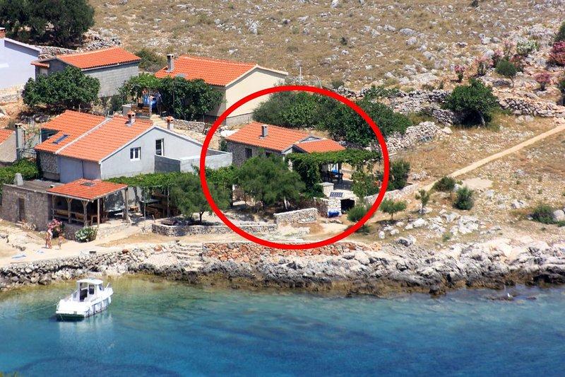 One bedroom house Cove Statival, Kornati (K-8164), holiday rental in Dugi Island