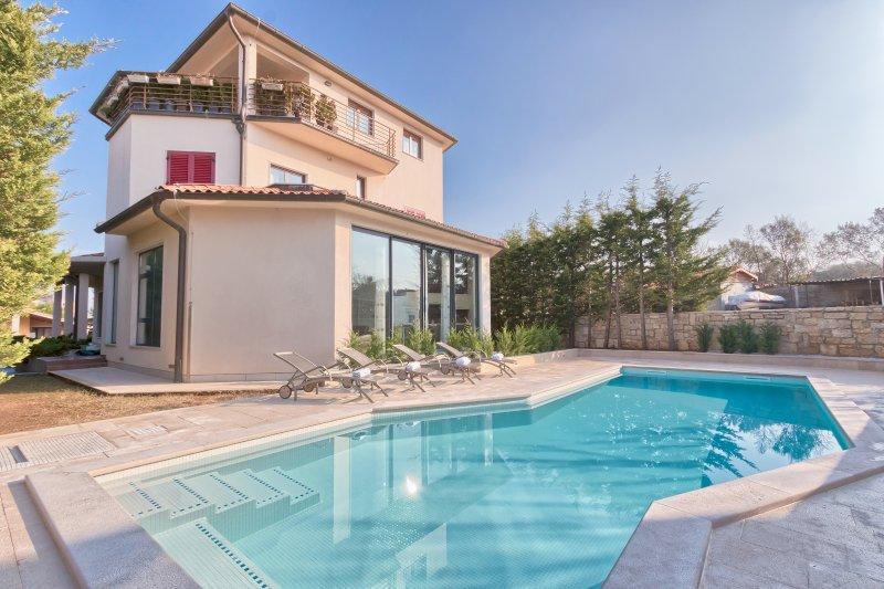 Villa YoYo****with the swimming pool, holiday rental in Stinjan