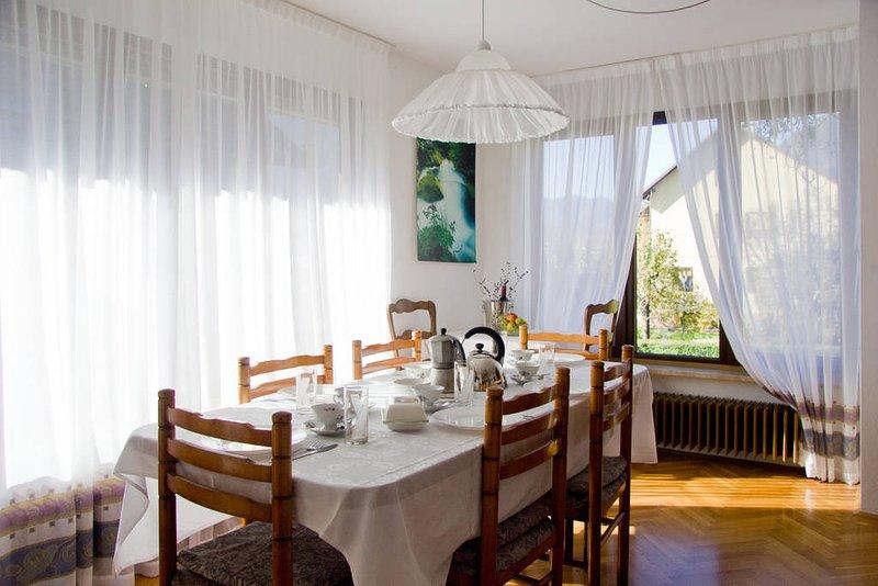 hiša Anton, alquiler vacacional en Bovec