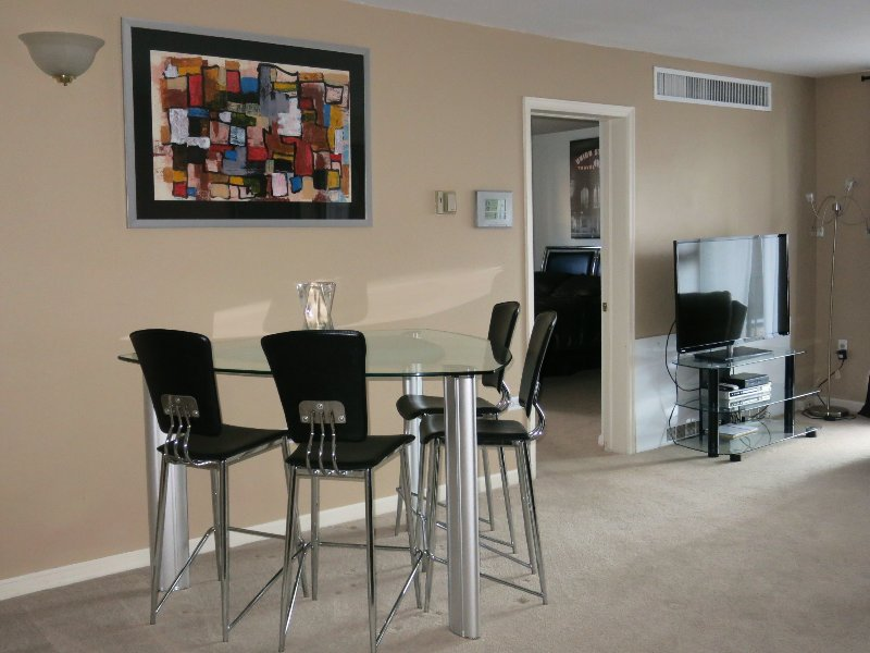 SPACIOUS LIVING ROOM/DINING ROOM - OPEN PLAN