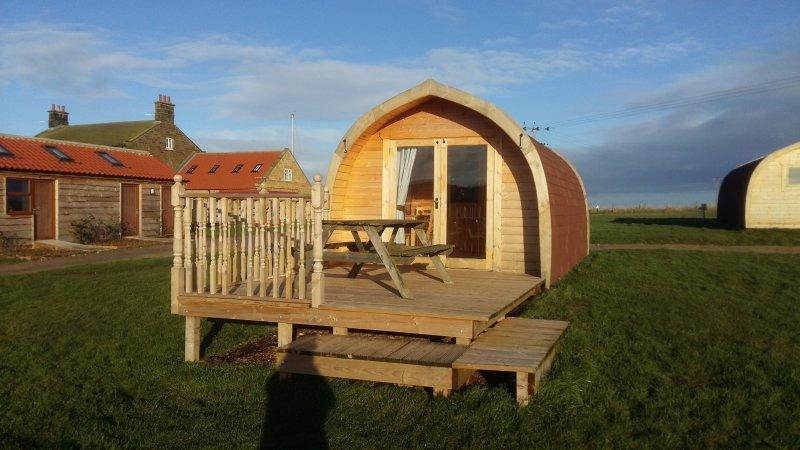 Kestrel Camping Pod, alquiler vacacional en Whitby