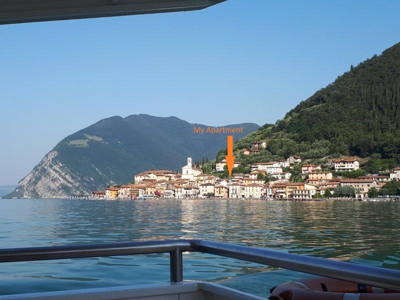 Casadina a 50 mt dal Lago, holiday rental in Peschiera Maraglio