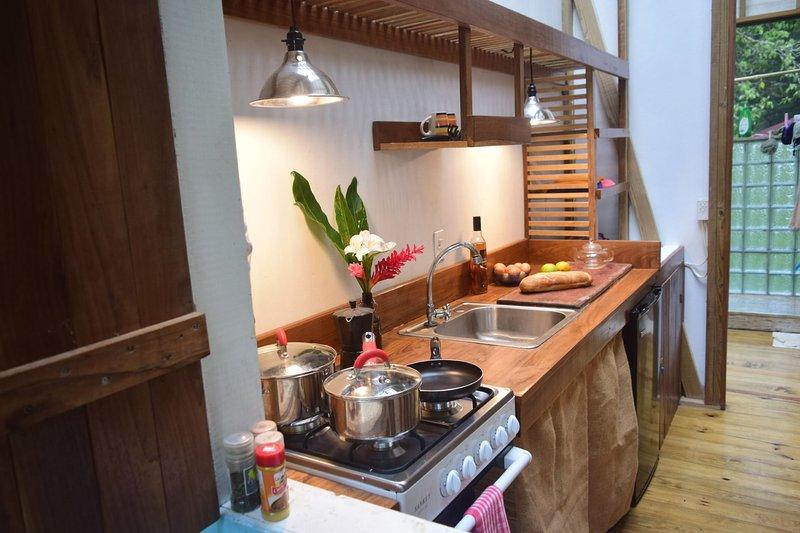 Own private kitchen